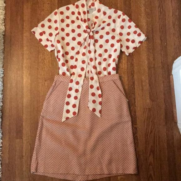 Tucker Dresses & Skirts - Tucker for Target herringbone chevron skirt
